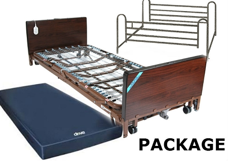 Bed Package Full Elec Bed With Full Rails And Mattress