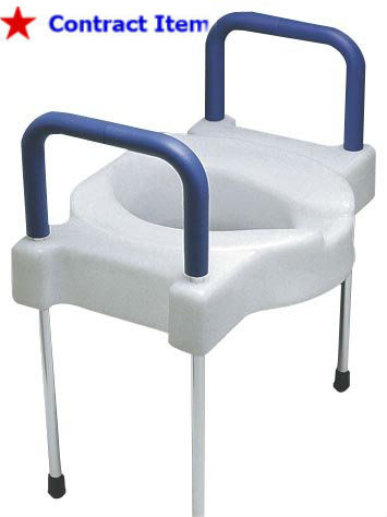 600 lb Heavy Duty Elevated Commode