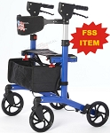 ON SALE Roadrunner Rollator w/Seat & Basket-FSS ITEM