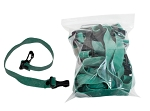 10 Pack green, medium resistance band bulk