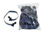 10 Pack blue, heavy resistance band bulk