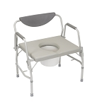 Bariatric Drop Arm Commode 1000 lbs