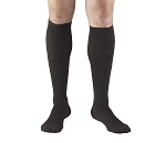 Xlarge DRESS BLACK Men's Calf-length Dress-style Support Socks