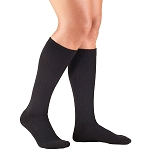 Large BLACK WOMENS TRUFORM casual support socks