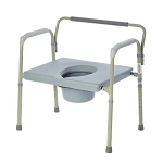 Bariatric Folding Commode 550 lb