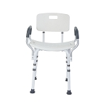 Shower Chair w/Back & Padded Arms