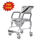 Rolling Shower Chair w Commode