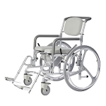 Self Propelling Shower WheelChair w Commode