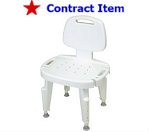 FSS ITEM Composite Bath and Shower Seat with back.