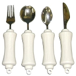 Adaptive Eating Kit Stainless Steel- 4 pcs