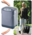 iGO Portable Oxygen Concentrator-Complete Kit- Cart,Bag, Adapter,Air Filter