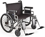 Invacare 9000 Topaz Bariatric Wheelchair, 20