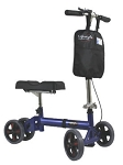 KN2000BL 350 lb capacity Knee Walker-Blue
