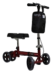 KN2000 350 lb capacity Knee Walker- Red