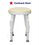 FSS ITEM Durable Composite Non-Rotating Shower Stool.