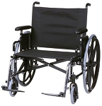 24-30w Seat 525 lb capacity wheelchair
