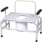 30 Wide Bariatic Commode-750lb capacity