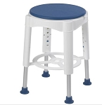 Swivel Shower Stool, Padded Seat 450 lb