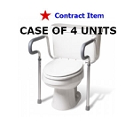 FSS ITEM Adjustable Toilet Safety Frame- 4 boxed Units \Case